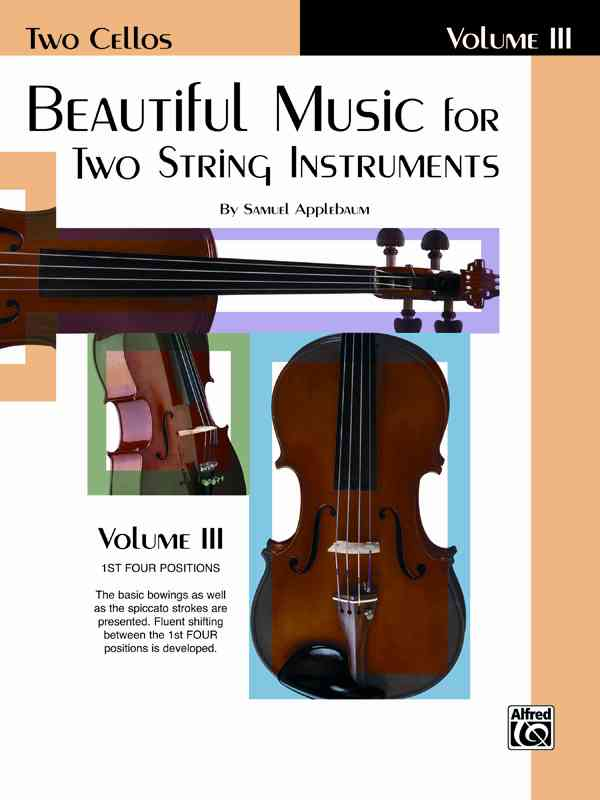 Beautiful Music for Two String Instruments, (Two Cellos) By Applebaum, Samuel